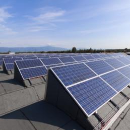 tubilaser fotovoltaico tetto