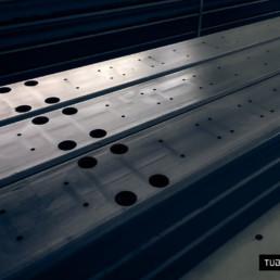 Taglio laser componenti per autoveicoli industriali