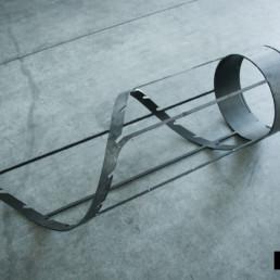 Taglio tubo settore arredamento design