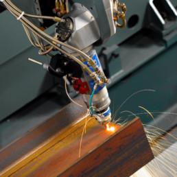 taglio laser ruggine zinco tubilaser