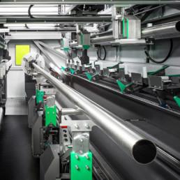 impianto taglio laser tubo