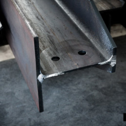 Laser cutting of HEA and HEB beams for oil & gas