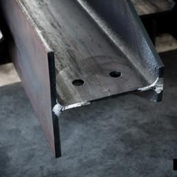 Taglio laser travi HEA HEB oil&gas
