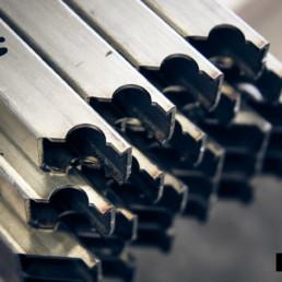 Tubi laserati per componenti d'arredo