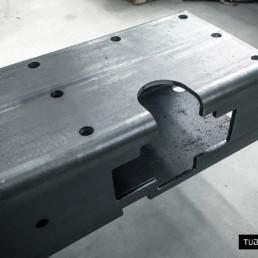 Taglio laser tubo per componenti industriali