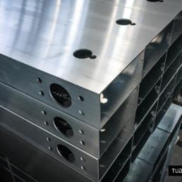 Taglio laser tubi alluminio
